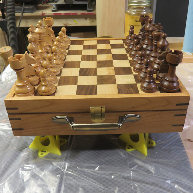 Chess Set by Chez Craft