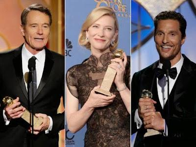 gagnants Golden Globes 2014