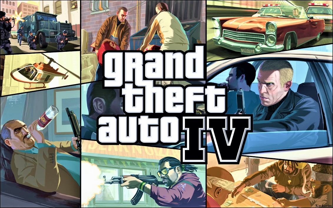 Grand Theft Auto IV Full Rip 4 6 GB Direct Download
