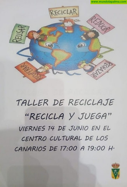 """Taller """"Recicla y juega"""" en Fuencaliente"""