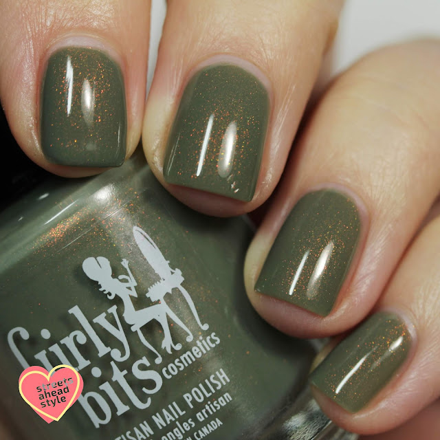 Girly Bits We Olive Pee swatch by Streets Ahead Style