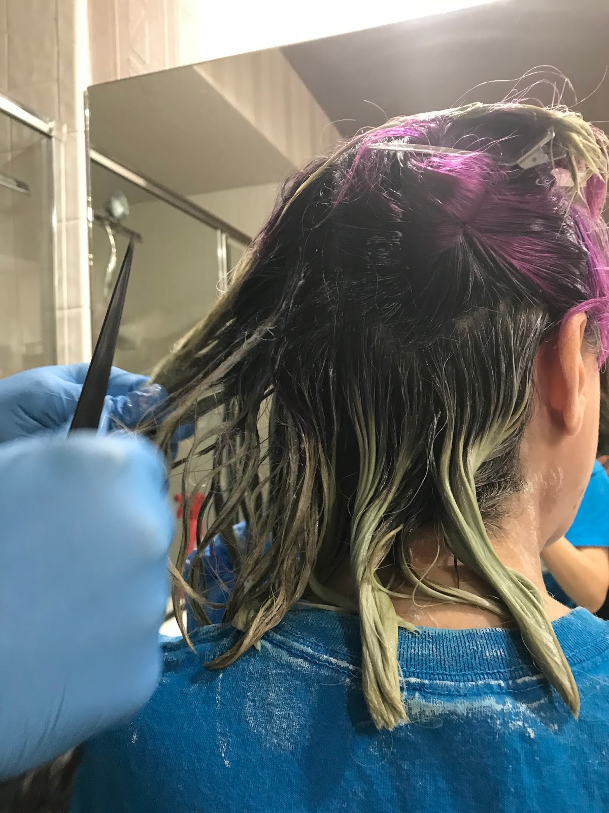 The Joico Color Intensity Eraser Wonder On Purple Hair The Color