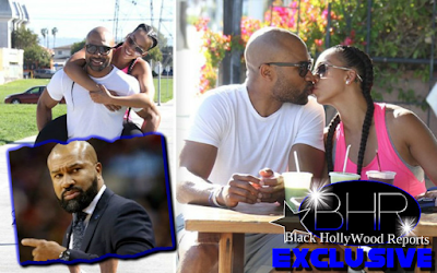Derrick Fisher And Gloria Govan Isn't Hiding Their Secret Relationship Anymore