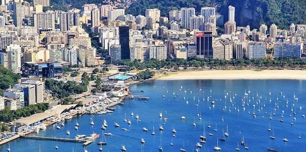 Vista general bahía Río de Janeiro