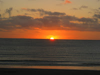 Paisaje Anochecer Sol Piriapolis Maldonado Uruguay playa