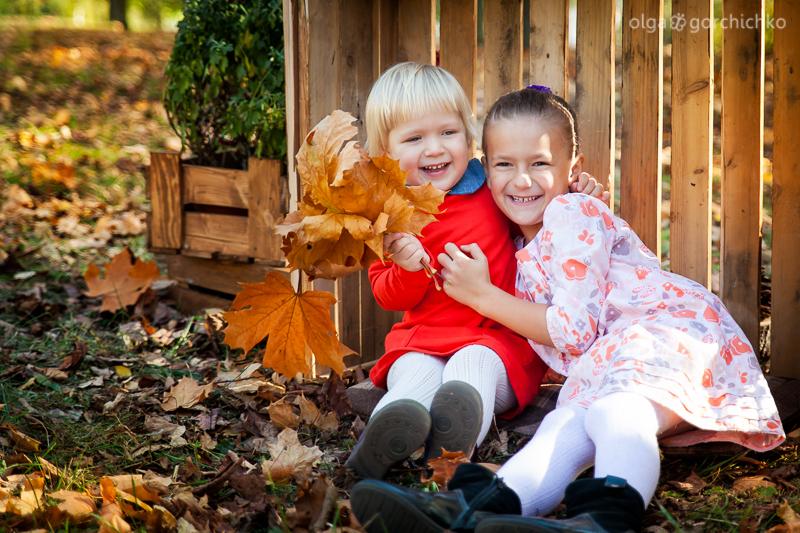 Осенний фотопроект. Осенняя фотосессия в Гродно