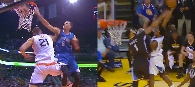 Who Had The Better Dunk? Zach LaVine Or Andrew Wiggins? (VIDEO)