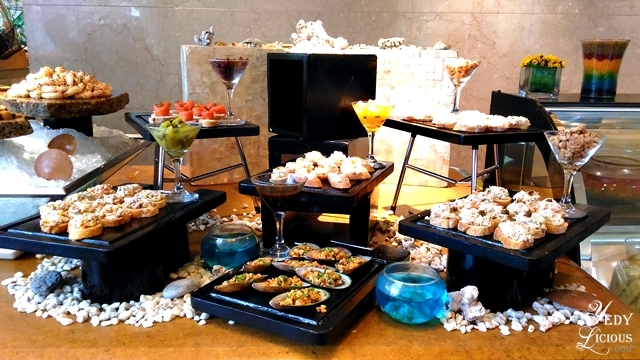 Appetizers Buffet at Spectrum Fairmont Hotel Makati Manila PH