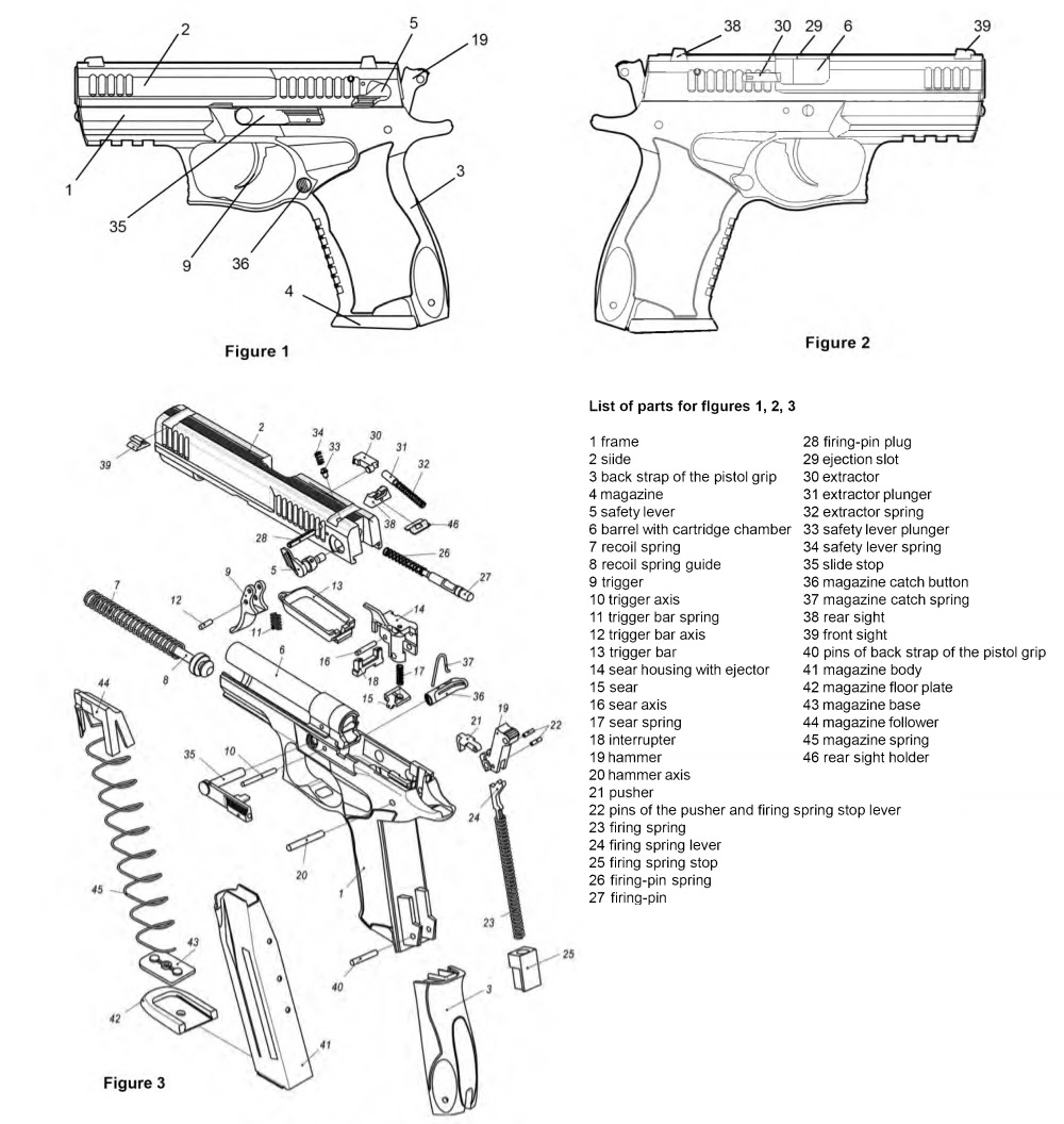 Ukrainian Fort-17 Pistol cal. 9 mm