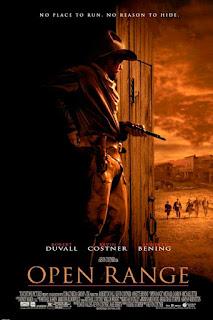 Poster de Open Range con Kevin Costner