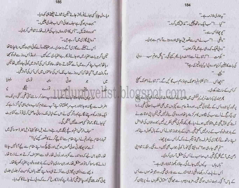Kitab Dost: Mohabbat aisa darya hai novel by Nighat