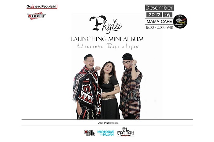 Phyla Project Launching Album Bekas Tapak