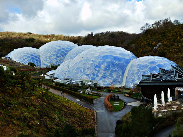Biomes at Eden Project, Cornwall