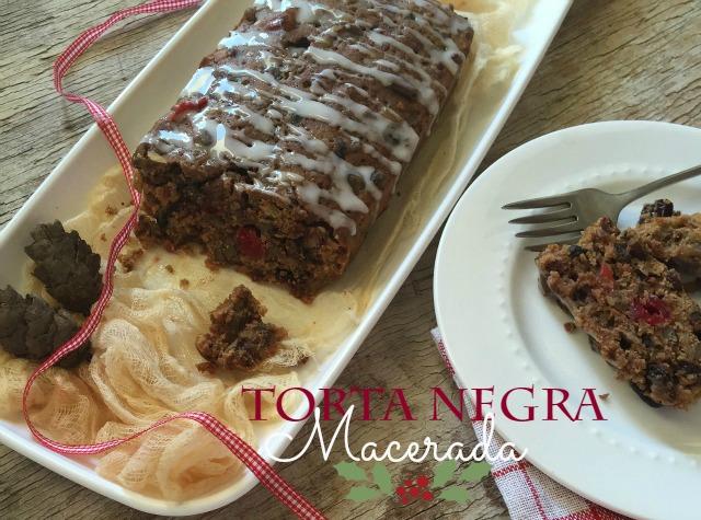 Torta Negra Macerada | http://bizcochosysancochos.blogspot.com/
