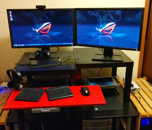 An Awesome Budget Standing Desk