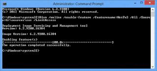 install NET Framework 3.5 in Windows 10 pc, NET Framework 3.5