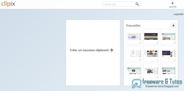 Clipix : un outil en ligne pour sauvegarder tout ce que vous trouvez sur le web