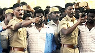 DC Mayilvaganam sensible speech with Trichy Jallikattu Protesters