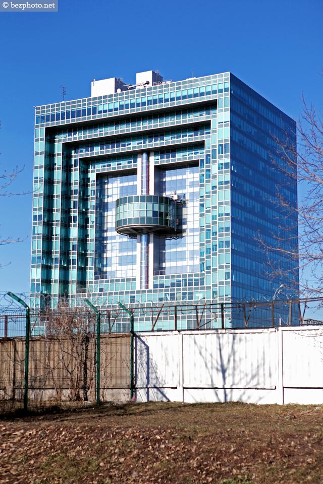 необычные здания москвы фото