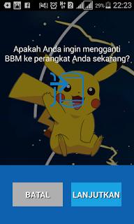 BBM Pokemon Go