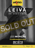 Leiva, Sold out en Madrid