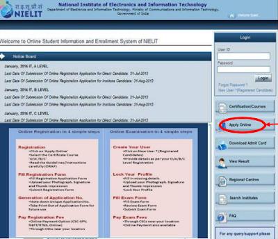 DOEACC Online Registration