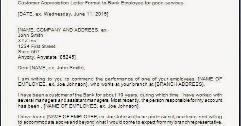 Customer Appreciation Letter Sample