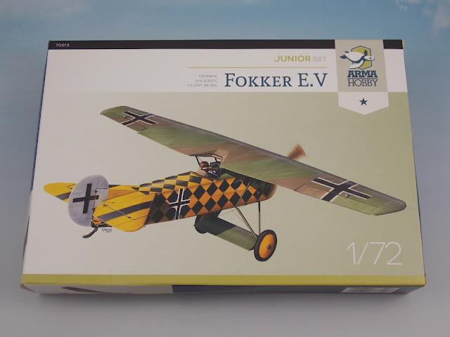Fokker E.V Arma Hobby Junior set - INBOX