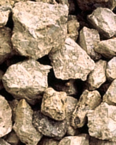 Aggregate from crushed concrete