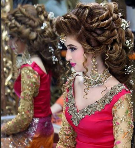 Brides Cosmetics Makeup And Hairstyle 2017 By Kashees Salon Nazje Blog