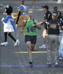 Disneyland Half Marathon Finish