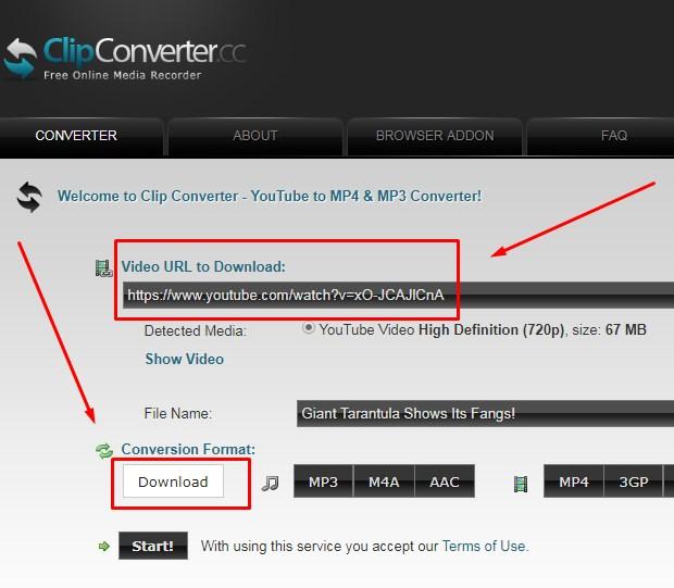 ClipConverter Untuk  Download Video Youtube 2019