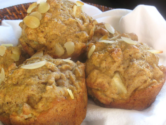Spiced Pear Muffins