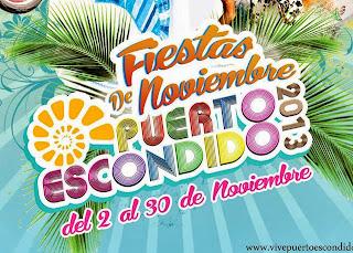 Programa Fiestas de Noviembre Puerto eScondido 2013