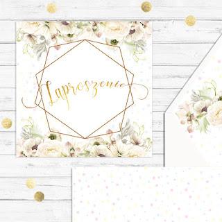 Ślubne inspiracje - subtelne zaproszenia, które zachwycą gości!
