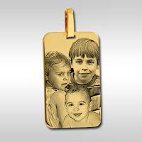 MO 01 médaille gravée plaqué or