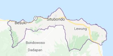 Nama-nama Kecamatan dan Desa di Kabupaten Situbondo - Jatim