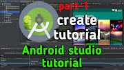 Android studio App create tutorial