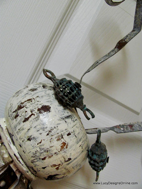 recycled art bug dragonfly