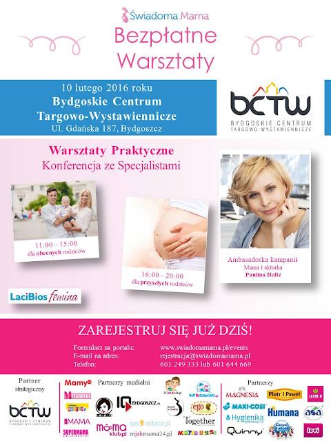 Bezpłatne spotkania Świadoma Mama w lutym 2016 r. -> Bydgoszcz i Gdańsk