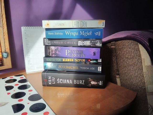książki, przeczytane, maj