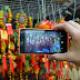 Lumia 535: A firework at Chinese New Year Food Wok
