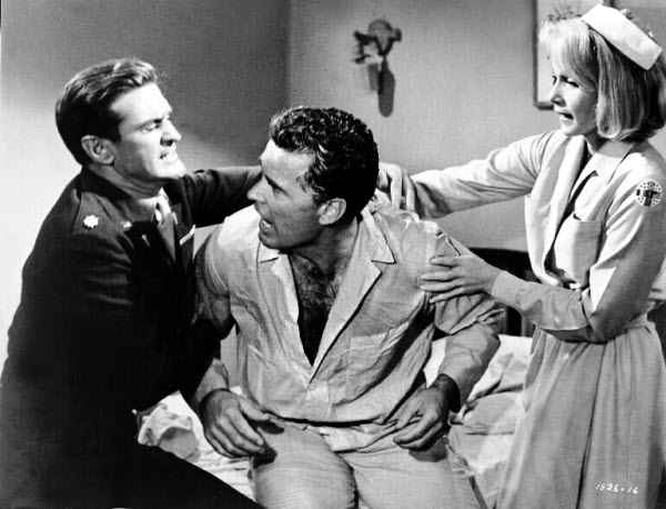 Rod Taylor, James Garner and Eva Marie Saint in 36 Hours (1965)