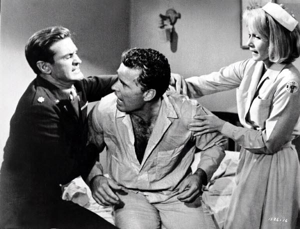 Rod Taylor, James Garner and Eva Marie Saint in 36 Hours (1965)