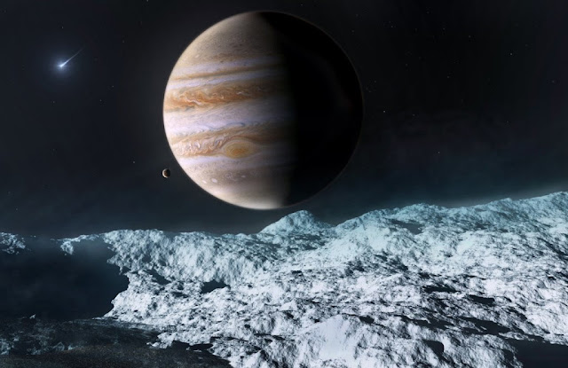 Lua Europa de Júpiter
