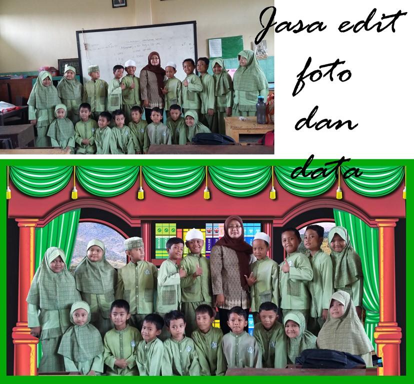 Jasa Desain Wajah: TOKO OPIK Jasa Edit Foto Dan Data: Edit Background Foto