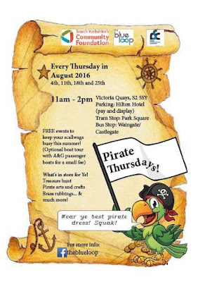 Children's activities on the canal on Thursdays in August, 11 - 2 at Victoria Quays