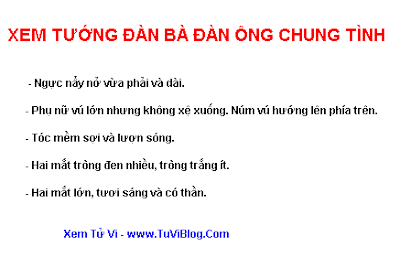 Tuong nguoi chung tinh