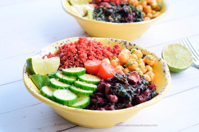 Comer en bowl, una receta