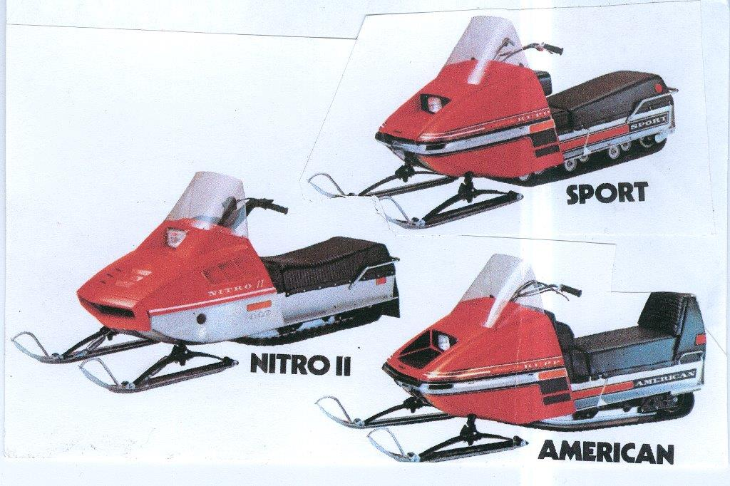 CLASSIC SNOWMOBILES OF THE PAST: 1974 RUPP SNOWMOBILES